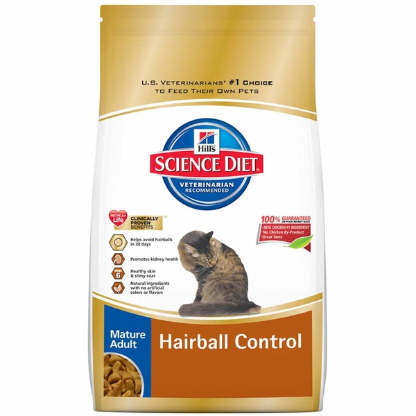 Hill's Science Diet Mature Adult Hairball Control