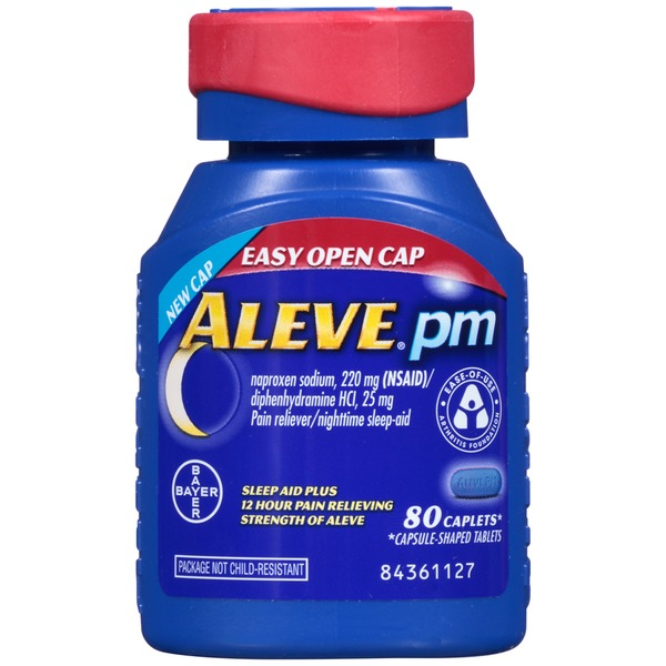 Aleve PM Pain Reliever/Nighttime Sleep Aid