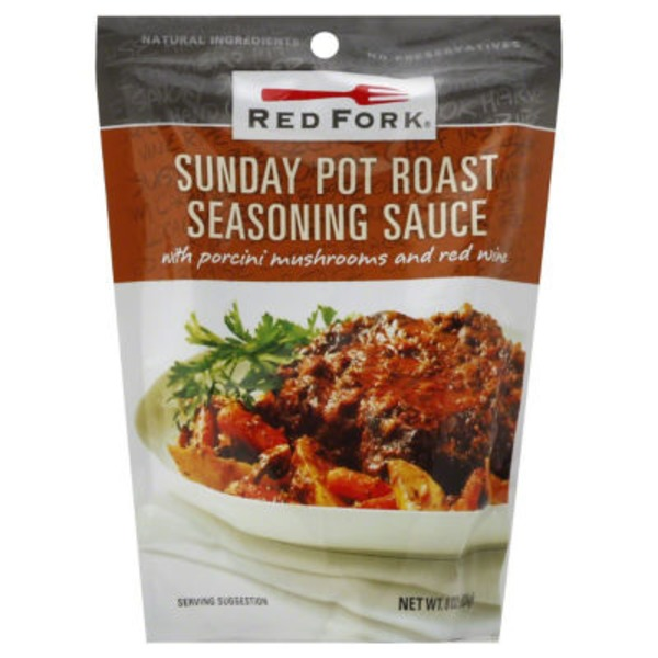 Red Fork Slow Cook Sauce, Sunday Pot Roast