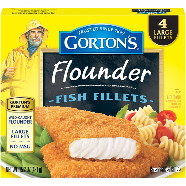 Gorton's Flounder Fish Fillets