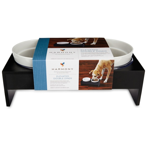 Harmony Elevated Double Diner Dog Feeder