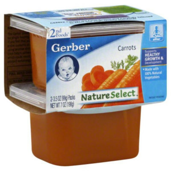 Gerber 2 Nd Foods Carrots Baby Food