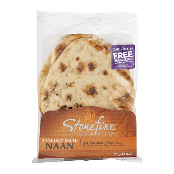 Stonefire Authentic Flatbreads Original Tandoor Baked Naan