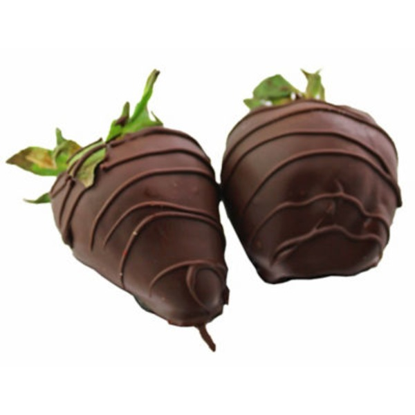 Central Market Swiss Chocolate Dipped Strawberry