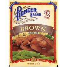 Pioneer Brown Gravy Mix, 1.61 oz