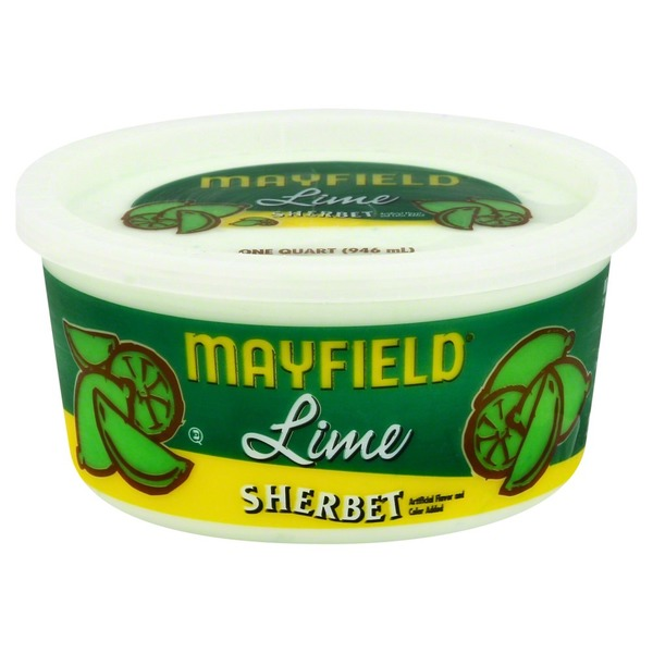 Mayfield Lime Sherbet