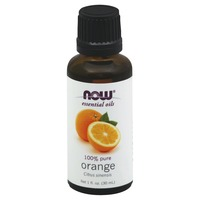 Now Essential Oils, 100% Pure, Orange, Bottle