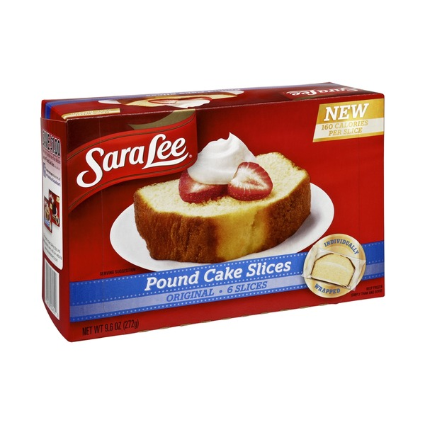 Sara Lee Original Pound Cake Slices - 6 CT