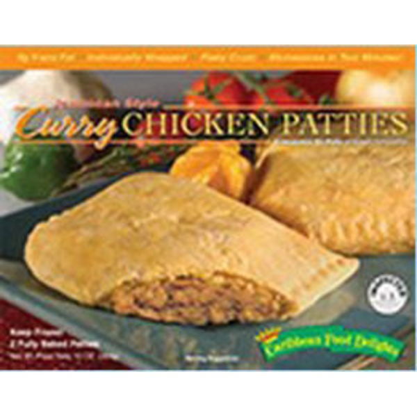Caribbean Food Delights Curry Chicken Patties