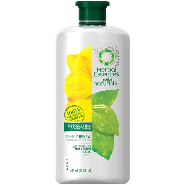 Herbal Essences Wild Naturals Detoxifying Conditioner 13.5 Fl Oz  Female Hair Care