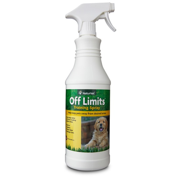 NaturVet Off Limits Dog Training Spray 32 Fl. Oz.