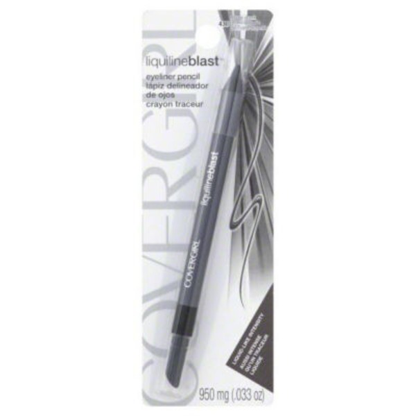 CoverGirl Liquiline Blast COVERGIRL LiquilineBlast Eyeliner Pencil, Silver Spark .033 oz (950 mg) Female Cosmetics