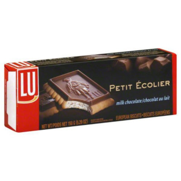 Lu Petit Ecolier Milk Chocolate European Biscuits