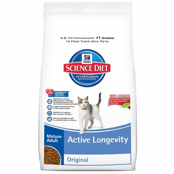 Hill's Science Diet Active Longevity Original Mature Adult Cat Food