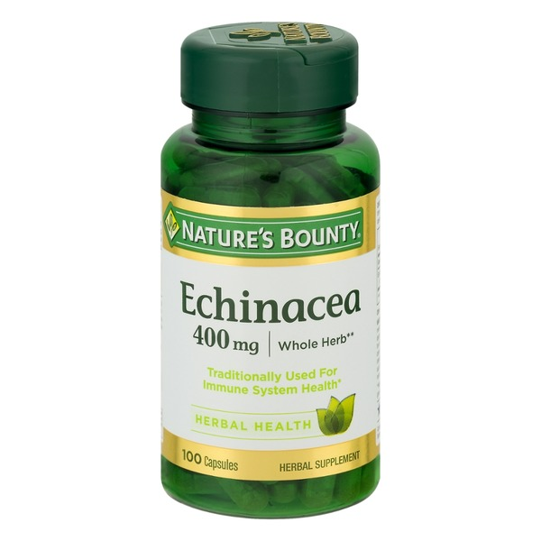 Nature's Bounty Echinacea Capsules - 100 CT