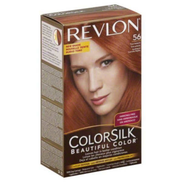 Colorsilk True Auburn 56 Beautiful Color Hair Color