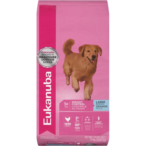 Eukanuba Adult Weight Control Large Breed Dog Food