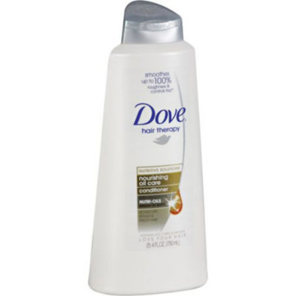Dove Anti-Frizz Oil Therapy Conditioner with Pump