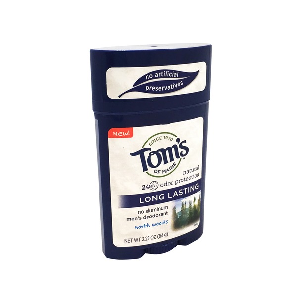 Tom's of Maine Long Lasting Deodorant Stick, North Woods