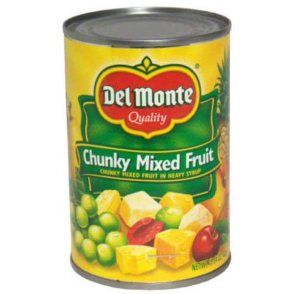 Del Monte Chunky in Heavy Syrup Mixed Fruit
