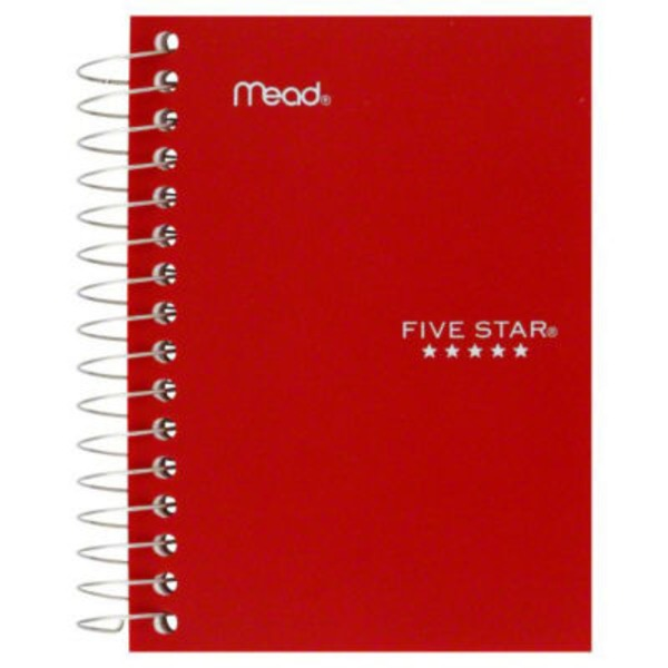 Mead Five Star College Ruled Notebook - 200 CT