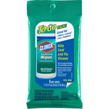 Clorox Disinfecting Wipes On The Go, Fresh Scent, 9 Wet Wipes