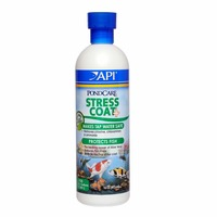 API PondCare Stress Coat+ Makes Tap Water Safe Protects Fish