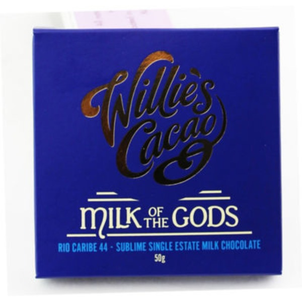 Willies Cacao Milk of the Gods Single Square