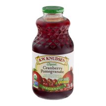 R.W. Knudsen Family Organic Juice, Cranberry Pomegranate, 32 Fl Oz, 1 Count