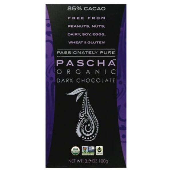 Pascha Organic Dark Chocolate 85% Cacao