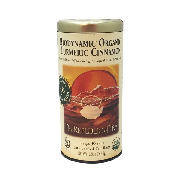 The Republic of Tea Tumeric Cinnamon Tea