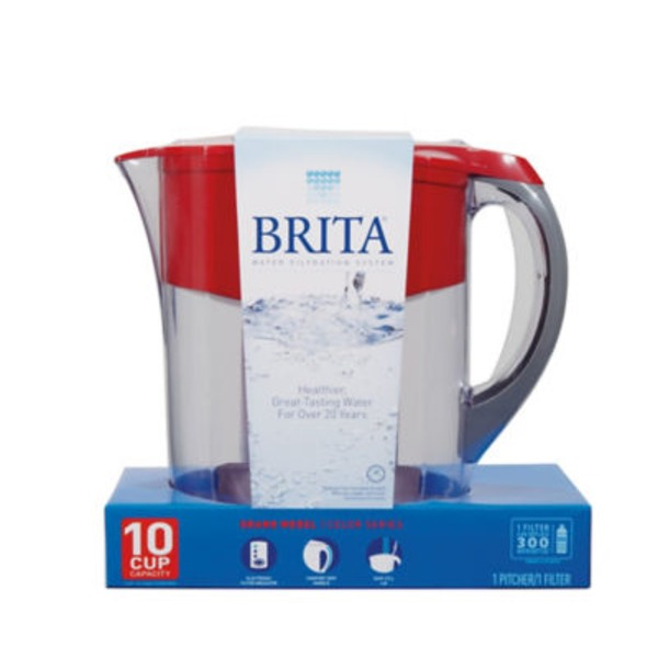 Brita Grand Water Filtration Pitcher