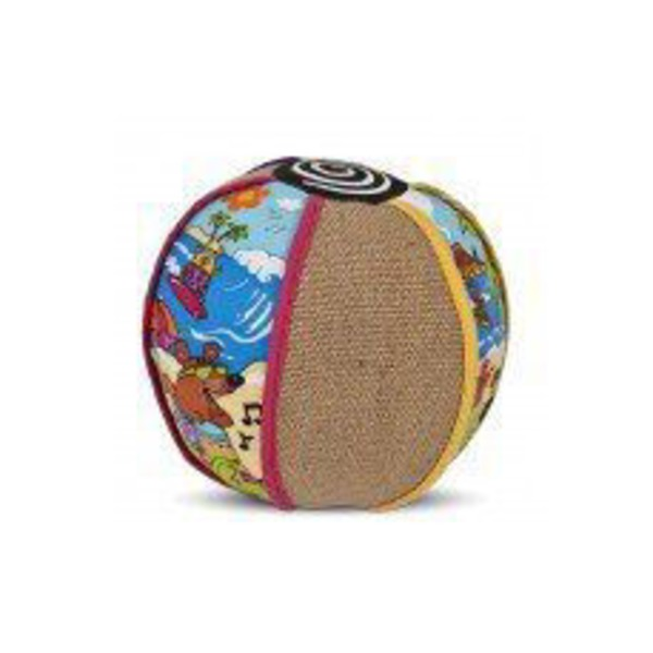 Petmate Fat Cat Kitty Kahuna Beach Ball Cat Scratcher