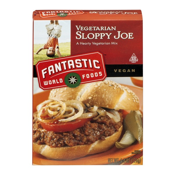 Fantastic World Foods Vegetarian Sloppy Joe Mix