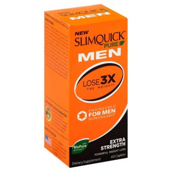 Slim Quick Pure Men's Extra Strength Weight Loss