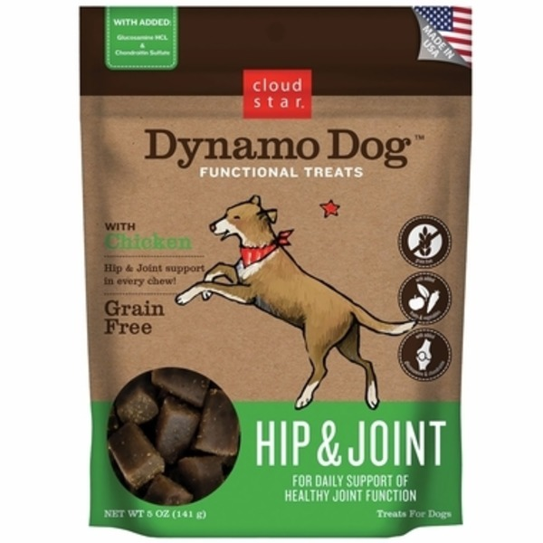 Cloud Star Chicken Hip and Joint Dynamo Dog Treat Soft Chews