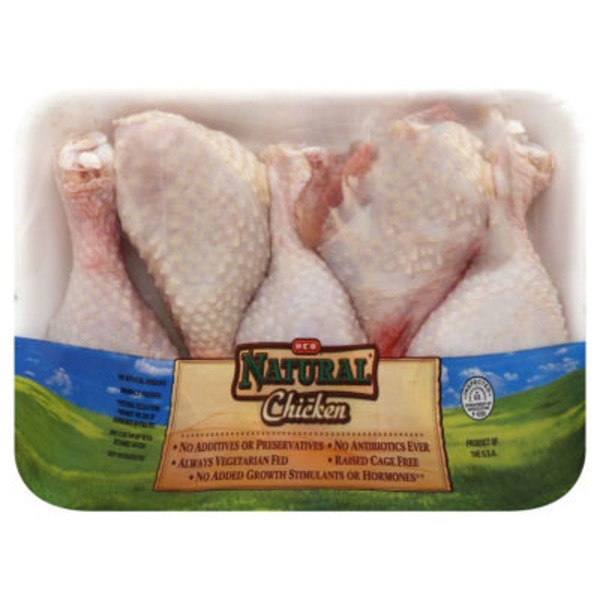 H E B Natural Chicken Drumsticks
