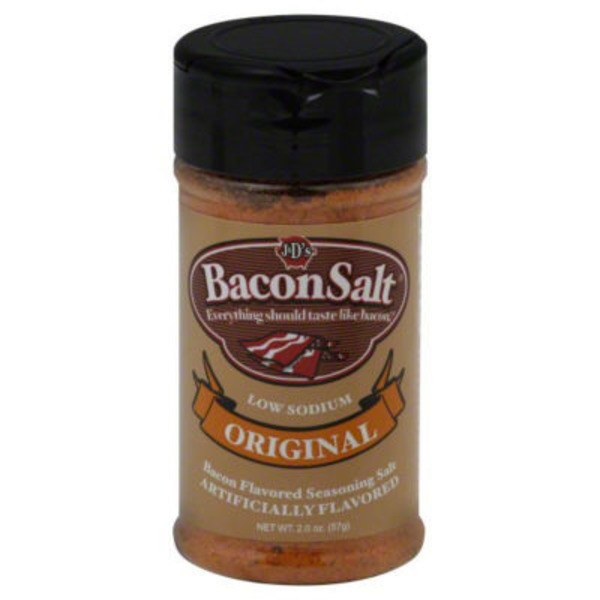 J & Ds Bacon Salt Original Bacon Flavored Seasoning Salt