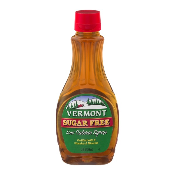 Vermont Creamery Sugar Free Low Calorie Maple Syrup