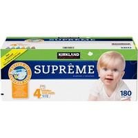 Kirkland Signature Supreme Diapers, Size 4