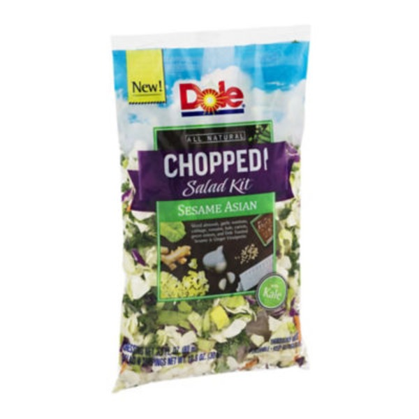 Dole Chopped Salad Kit Sesame Asian