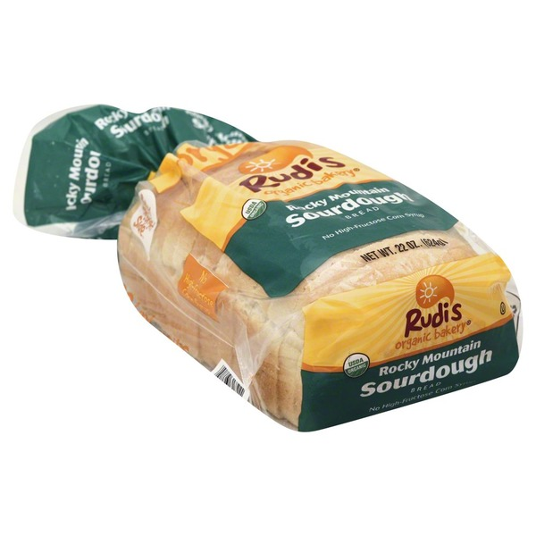 Rudi's Organic Bakery Rocky Mountain Sourdough Bread
