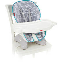 Fisher-Price Space Saver High Chair Gray/White