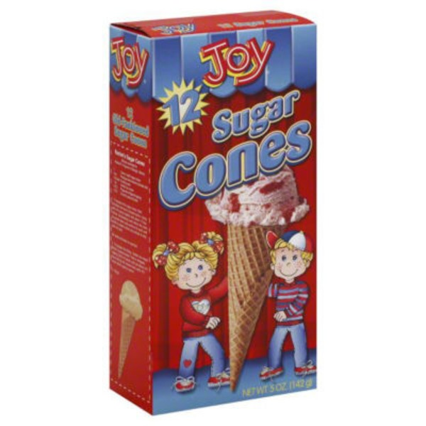Joy Sugar Cones