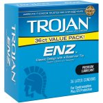 Trojan ENZ Lubricated Latex Condoms - 36 ct