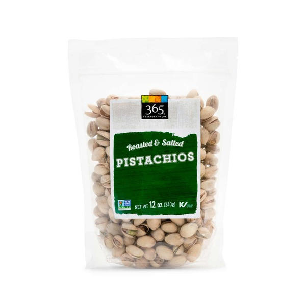 365 Salted Roasted Pistachios