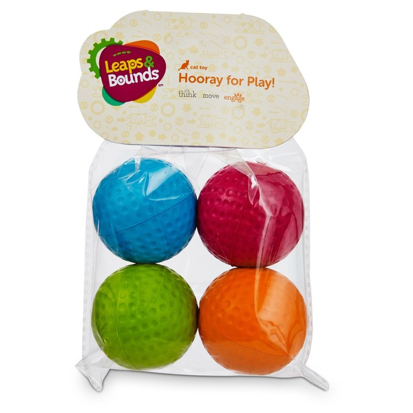 Leaps & Bounds Foam Ball Cat Toys