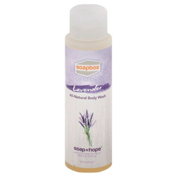 SoapBox Body Wash Lavender