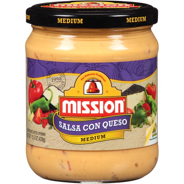 Mission Medium Salsa Con Queso