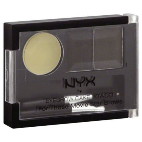NYX Black/Gray Eyebrow Cake Powder